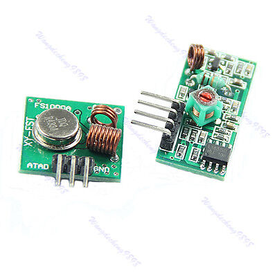 433mhz Rf Transmitter And Receiver Link Kit For Arduinoarmmcu Wl