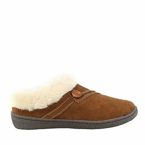 Clarks Kimberly Slip On Slippers Woman's Size 7 M Saddle - NEW IN BOX