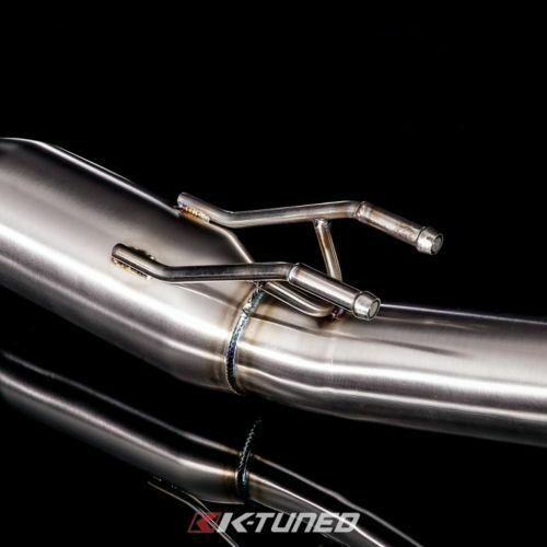 K Tuned 02-06 Acura RSX-S 3 Oval Tube Cat Back Exhaust