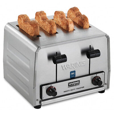 Commercial 4 Slice Toaster Four Wide Slots 208v