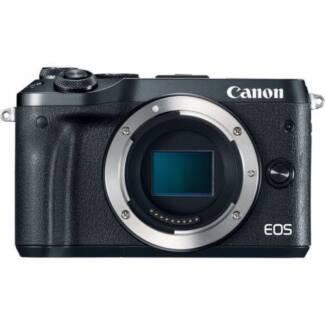 NEW Canon EOS M6 Black (Body Only) (Original Box)  1 YR WTY