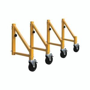 Outrigger Set for Baker Scaffolding Includes Wheels - Heavy Duty (LOWEST PRICE IN CANADA) Brand New