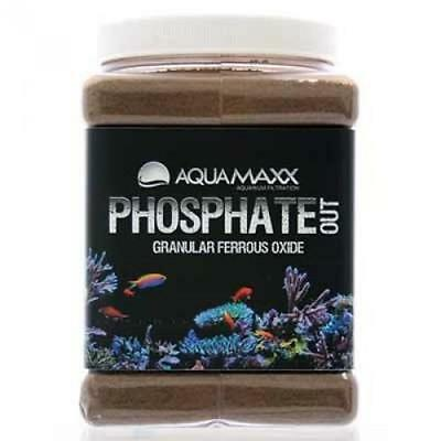 Aquamaxx Phosphate Out Granular Ferric Oxide Filter Media...