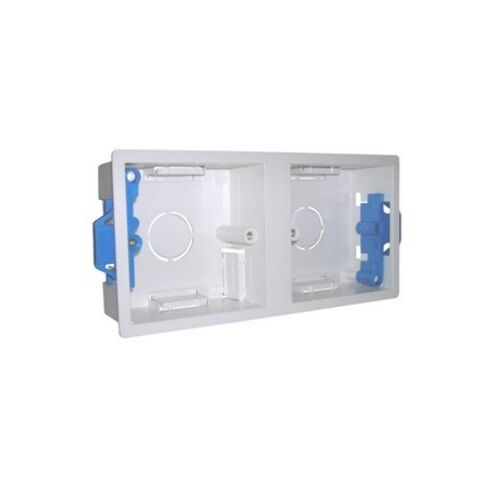 1 or 2 Gang Dry Lining Boxes Adjustable Lugs for Plasterboard walls.Various Size