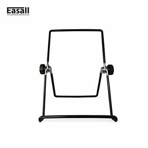 Black Vinyl Coated Wire Easel for Tabletop