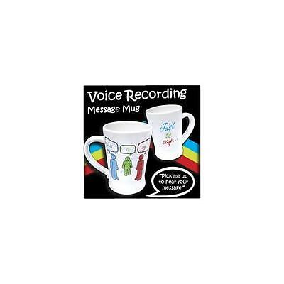 755 - MESSAGE MUG, VOICE RECORDER GADGET