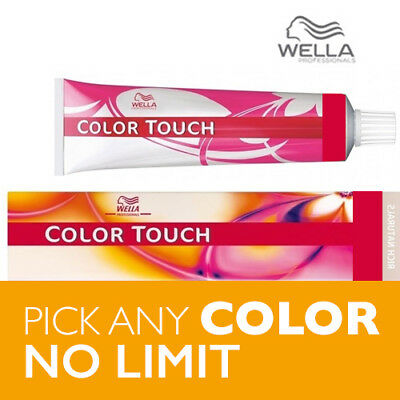 Wella Salon Color Touch Hair Color – 50 COLORS ~ 2oz ~ FREE SHIPPING!