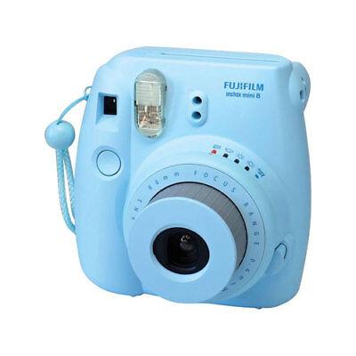 Fujifilm Instax Mini 8 Instant Film Camera (Blue)