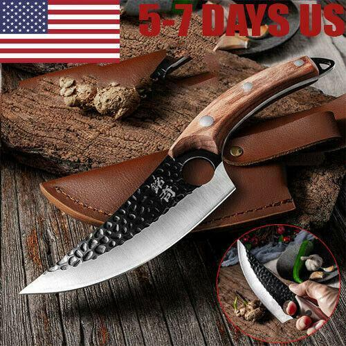 Mus™️ -Viking Forged Kitchen Chef Knife Original Quality Skarde Boning Cleaver