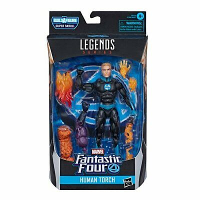 IN STOCK! Fantastic Four Marvel Legends Human Torch 6-Inch Action Figure HASBRO
