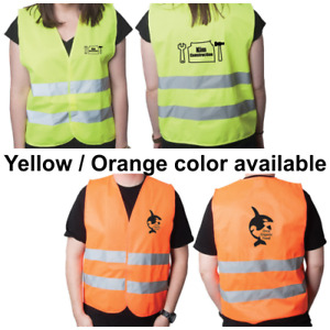 Best Price Economical Safety Vest with Custom printing 4 sale!