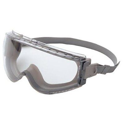 Uvex Stealth Gray Body Safety Goggles S3960C High Impact