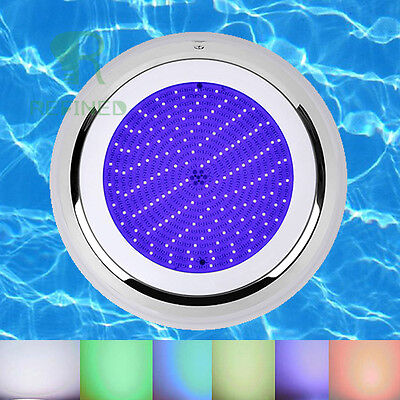 Stainess Resin filled led swimming pool underwater light 252led RGB 12V CE