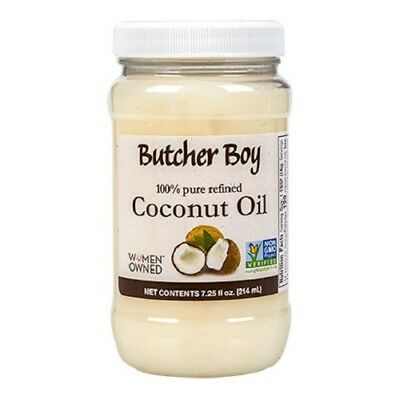 1x Bollix up Boy Coconut Oil 100% Pure Refined Non-GMO Non-Hydrogenated 7.25 oz