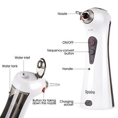 Spaire Wasser Flosser elektronische Mundduschen Zähne Zahnfleisch Reinigen