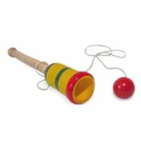 Wooden Cup and Ball Toy: Brand New
