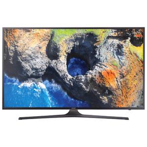"Samsung 55"" 4K UHD HDR LED Tizen Smart TV (UN55MU6300FXZC) - Dar"