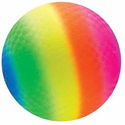 Toys+ 8.5 inch Rainbow Colored Playground Ball (1 Rainbow - Rainbow Playground