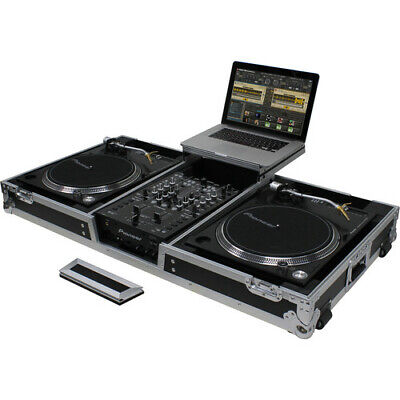 Odyssey Innovative Designs Flight Zone - Universal Turntable DJ Coffin with (Flight Zone Coffin)