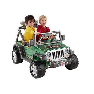 Broken Ride-on Jeep