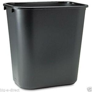 Black Kitchen Trash Can
