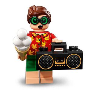 NEUF LEGO ROBIN EN VACANCES SÉRIE BATMAN MOVIE 2