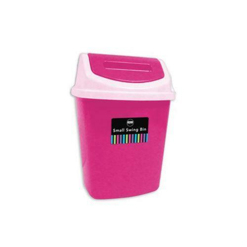 Purple Bedroom Waste Bin