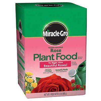 Miracle-Gro Rose Plant Food, 1.5-Pounds (Rose Fertilizer)