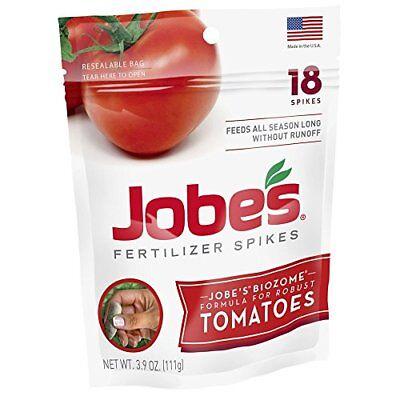 Jobe's Tomato And Vegetable Fertilizer Spikes