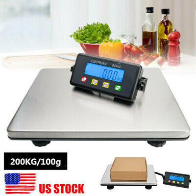 Postal Scale Digital Shipping Electronic Mail Package Capacity Weight 200kg100g