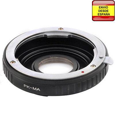 Anillo adaptador lentes Pentax-K PK a Sony Alpha