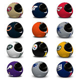 NFL Helmet Infrared Quiet Portable Space Heater Dual Adjustable Thermostat