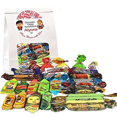 Gourmet Russian And Ukrainian Chocolate Candy Assortment  1 Lb  0 45 Kg