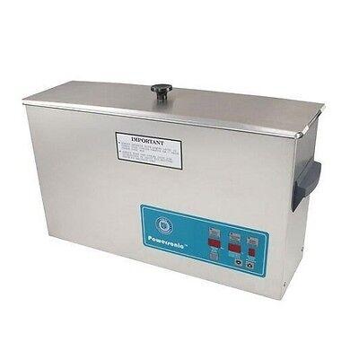 Crest Powersonic Ultrasonic Cleaner 2.5 Gallon Digital Timer Heat Pc Basket