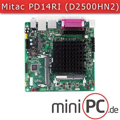 Mitac PD14RI-N3700 (Intel D2500HN2) Mini-ITX Mainboard / Motherboard [FANLESS]