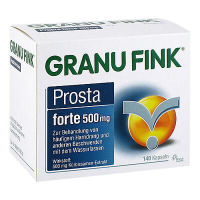 GRANU FINK Prosta forte 500 mg Hartkapseln 140St 10011938