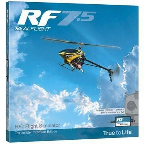 Great Planes Z4525 RealFlight 7.5 w/Wired Transmitter Interface