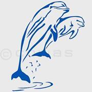 Wandtattoo Delfin