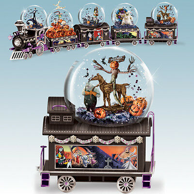 DISNEY Tim Burton Nightmare Before Christmas TRAIN ALL HAIL THE PUMPKIN KING #5  ()