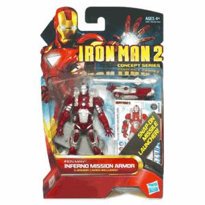Iron Man Inferno Mission Armor #13