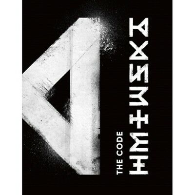 Monsta X-[The Code]5th Mini Album 2 Ver Set CD+Poster+Booklet+Card+Tracking