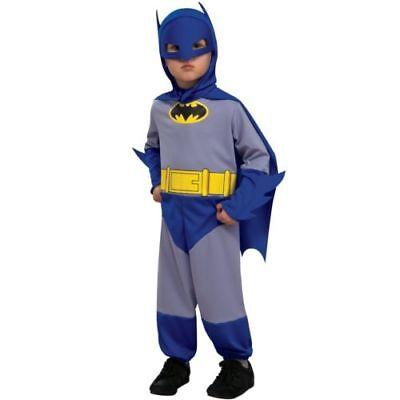 oween Costume Toddler 1-2 Years Rubies Jumpsuit Mask Cape (Blue Batman Halloween-kostüm)