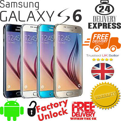 **New Samsung Galaxy S6 Unlocked 32GB Android 5.1 inch Sealed Package**