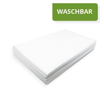10 Stück Vlieslaken 85x220cm SOFT Waschfaserlaken Waschvlieslaken waschbar