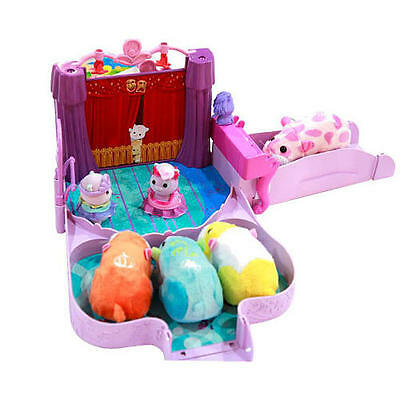 Zhu Zhu Pets Babies DANCE RECITAL Accessories & 3 Outfits PlaySet Hamster Power for sale  Shipping to India