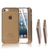 iPhone 5 Silicone Case Black