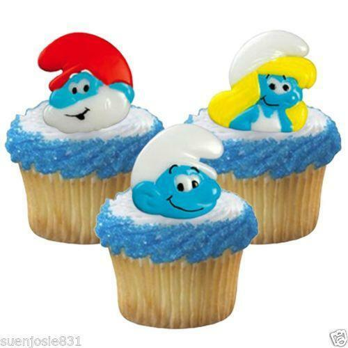 Smurf Cake Decorations