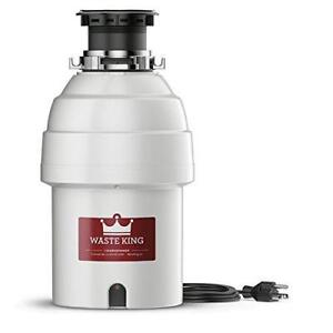 Waste King L-8000 1 Horse Power 2800 Rpm Food Waste Disposer