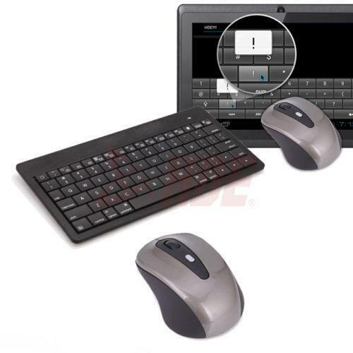 slim wireless keyboard and mouse ebay. Black Bedroom Furniture Sets. Home Design Ideas
