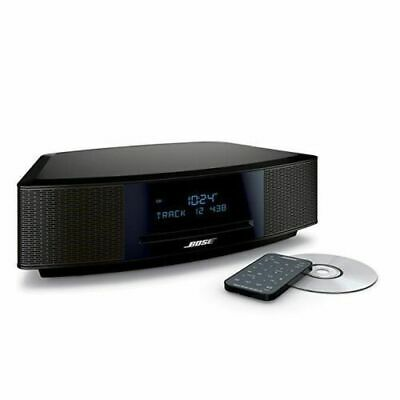 Bose Wave Music System IV CD Player Radio Alarm Clock BLACK ESPRESSO